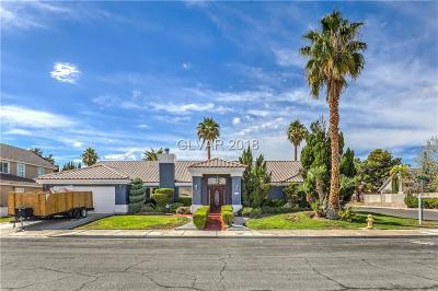 Las Vegas Single Family Home For Sale: 308 La Rue Court
