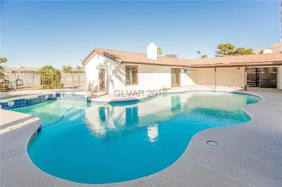 Las Vegas NV Single Family Home Under Contract - No Show: $429,000