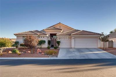 Las Vegas Single Family Home For Sale: 7144 Wild Wave Drive