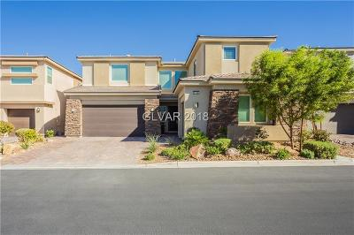Las Vegas Single Family Home For Sale: 8166 Aster Meadow Way