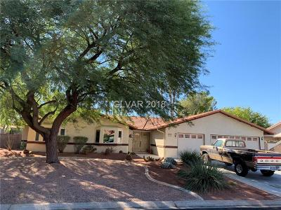 Las Vegas Single Family Home Under Contract - No Show: 1721 Carlos Drive