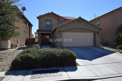 North Las Vegas Single Family Home For Sale: 4209 Cape Eagle Avenue