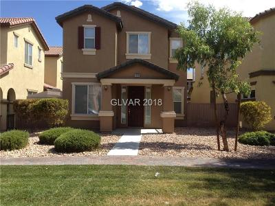 North Las Vegas Single Family Home Under Contract - No Show: 4359 Acropolis Avenue
