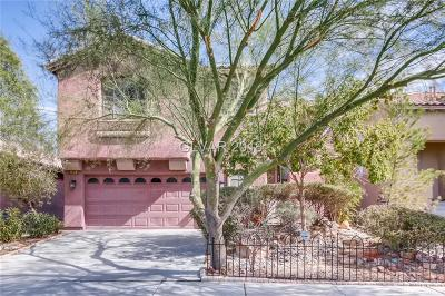North Las Vegas Single Family Home For Sale: 5820 Running Horse Drive