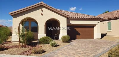 Henderson Single Family Home For Sale: 594 Via Paladini