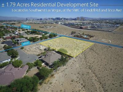 Las Vegas Residential Lots & Land For Sale: 5535 Teco Avenue