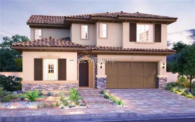 Henderson Single Family Home For Sale: 338 Via Del Salvatore