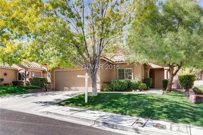 Las Vegas Single Family Home For Sale: 1109 Royal Birch Lane