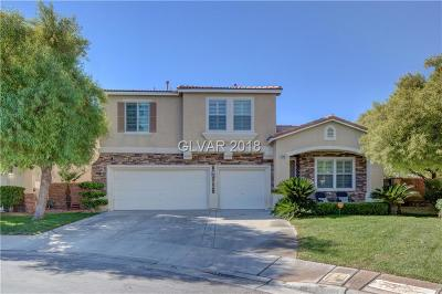 Henderson Single Family Home Under Contract - No Show: 2540 Carmona Circle