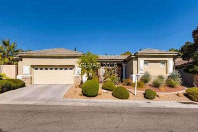 Las Vegas NV Single Family Home For Sale: $525,000