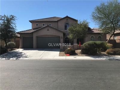 North Las Vegas Single Family Home Under Contract - No Show: 7375 Preen Street