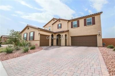 Las Vegas Single Family Home For Sale: 387 Moon Aura Avenue