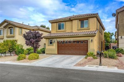 Las Vegas Single Family Home Under Contract - No Show: 382 Center Green Drive