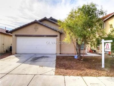 North Las Vegas Single Family Home For Sale: 4187 Macadamia Drive