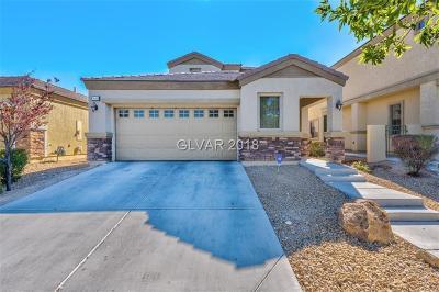 North Las Vegas Single Family Home For Sale: 3649 Remington Grove Avenue