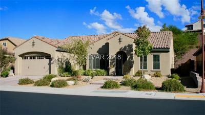 Henderson Single Family Home For Sale: 2888 Grande Arch Street