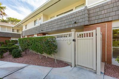 Las Vegas Condo/Townhouse For Sale: 723 Oakmont Avenue #3415