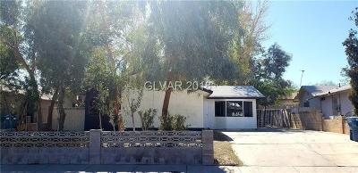 Las Vegas Single Family Home For Sale: 6223 Foothill Boulevard
