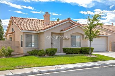 Las Vegas Single Family Home For Sale: 7911 Rotella Drive