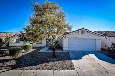 North Las Vegas Single Family Home For Sale: 3025 Meadow Flower Avenue
