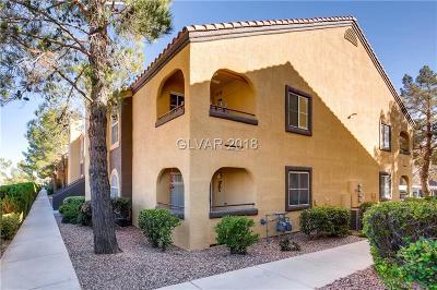 Las Vegas NV Condo/Townhouse For Sale: $173,000