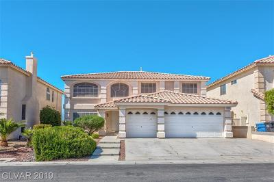 Las Vegas Single Family Home For Sale: 654 Mystic Cliffs Avenue