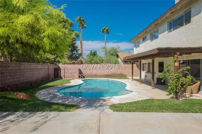 Las Vegas Single Family Home For Sale: 6775 Segura Drive