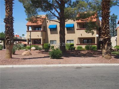 Las Vegas NV Condo/Townhouse For Sale: $118,000