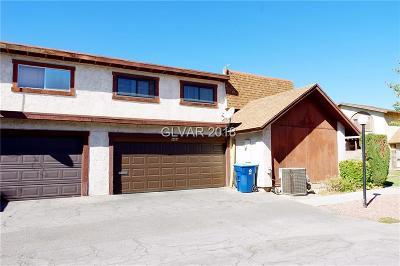 Las Vegas Condo/Townhouse For Sale: 4484 Buena Vista Drive