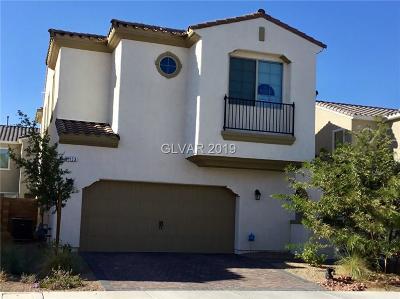 Henderson Single Family Home For Sale: 1153 Strada Cristallo