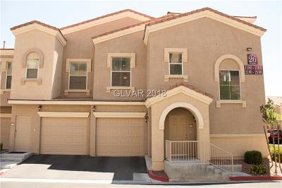 Las Vegas Condo/Townhouse For Sale: 10550 Alexander Road #2188