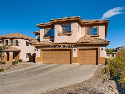 Henderson Single Family Home For Sale: 186 Copper Rock Court