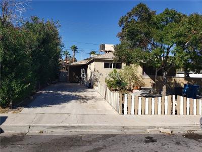 Las Vegas Single Family Home For Sale: 1312 Melville Drive