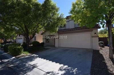 Las Vegas Single Family Home For Sale: 3699 Casellina Court