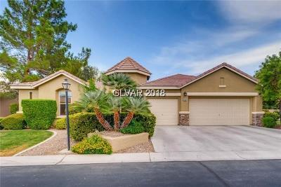 Las Vegas Single Family Home For Sale: 8700 Glistening Pond Street