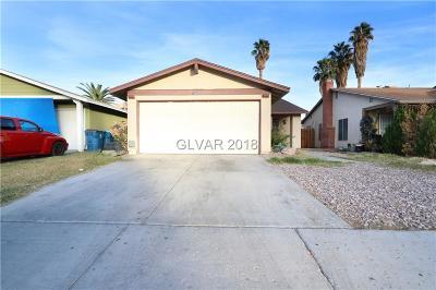 Las Vegas Single Family Home For Sale: 1338 Christy Lane