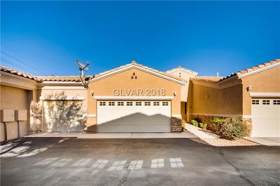 Boulder City Condo/Townhouse For Sale: 237 Garrett Lane #2