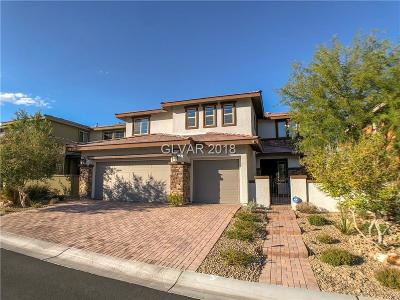 Las Vegas Single Family Home For Sale: 10524 Dove Meadow Way