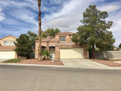 North Las Vegas NV Single Family Home For Sale: $255,000