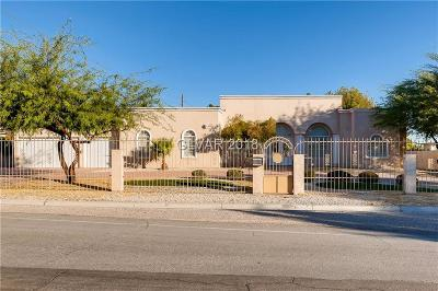 Las Vegas Single Family Home For Sale: 5680 Darby Avenue