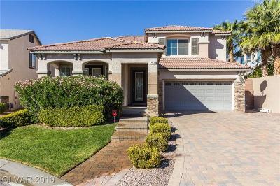 Las Vegas Single Family Home For Sale: 421 Eternity Street
