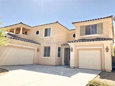 North Las Vegas Single Family Home For Sale: 2109 Baywater Avenue