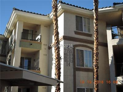 Las Vegas Condo/Townhouse For Sale: 7155 South Durango Drive #206