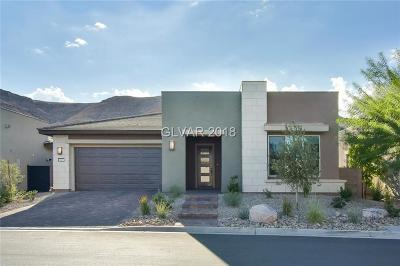 Las Vegas Single Family Home For Sale: 6009 Silvalde Lane
