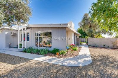 Las Vegas Single Family Home For Sale: 5837 Knight Avenue