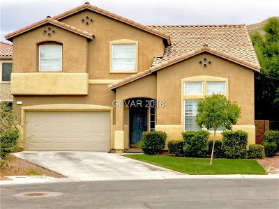 Las Vegas Single Family Home For Sale: 11291 Dolcetto Drive