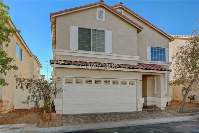 Las Vegas Single Family Home For Sale: 7317 Vinca Road