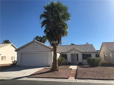 Las Vegas Single Family Home For Sale: 6271 Curlew Drive Drive