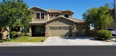 Henderson Single Family Home For Sale: 258 Chamomile Drive
