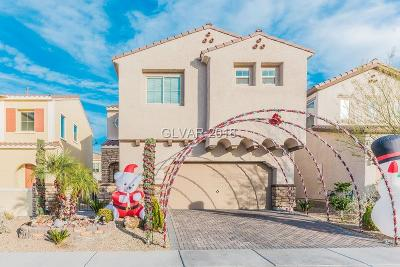 Henderson Single Family Home For Sale: 1120 Via San Pietro